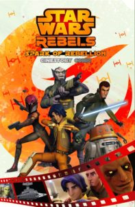 Star Wars Rebels: Spark of Rebellion - Cinestory Comic (14.02.2017)
