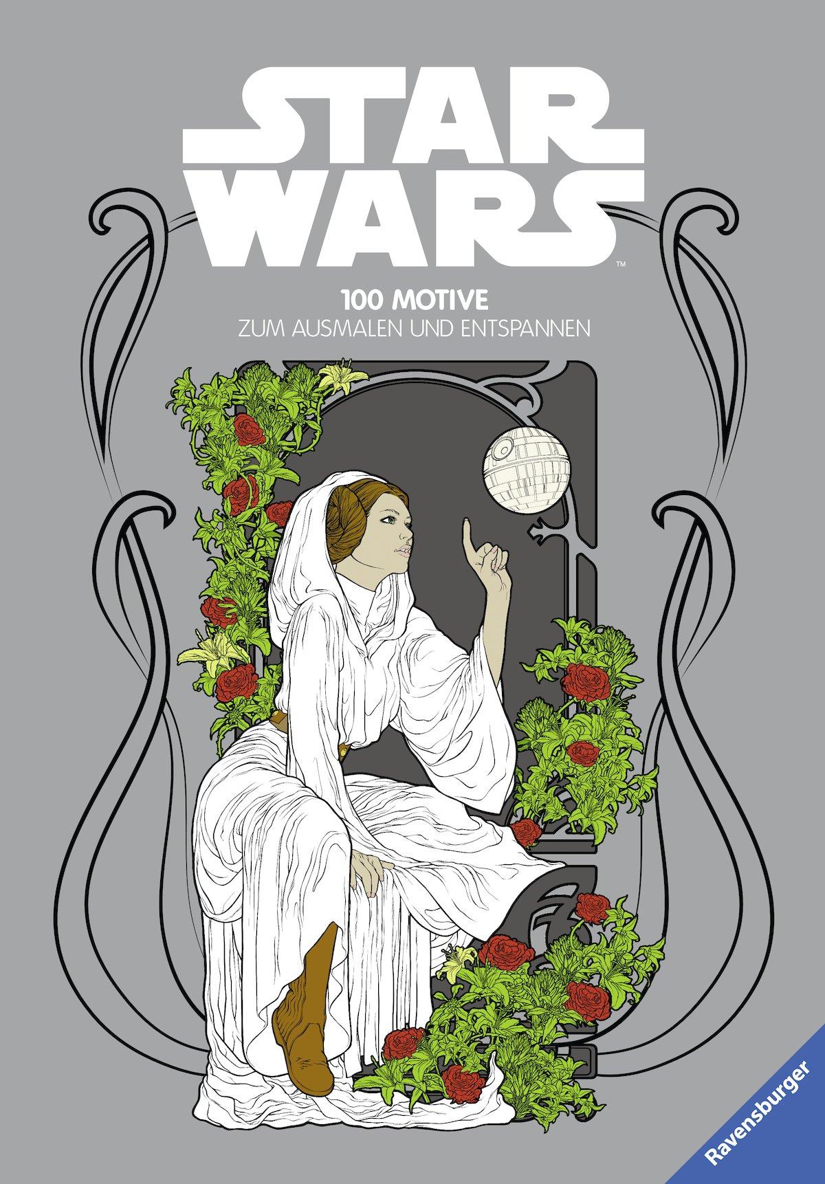 Star Wars: 100 Motive zum Ausmalen und Entspannen – Datenbank – Jedi ...