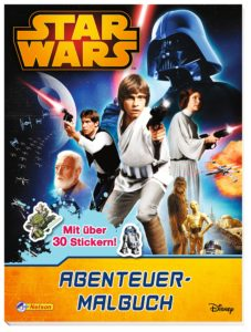 Star Wars: Abenteuer-Malbuch (28.07.2016)