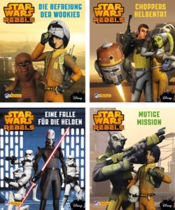 Nelson Mini-Bücher: 4er Star Wars Rebels 1-4 (28.07.2016)
