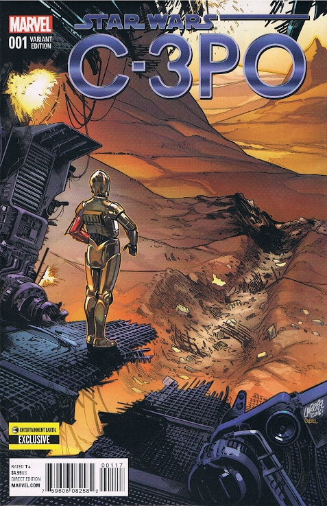 Star Wars Special: C-3PO #1 (Pepe Larraz Entertainment Earth Variant Cover) (13.04.2016)