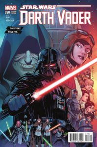 Darth Vader #20 (Story Thus Far Variant Cover) (11.05.2016)