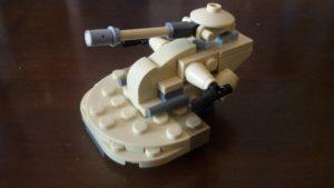 LEGO Star Wars Magazin #11 - AAT - Minimodell