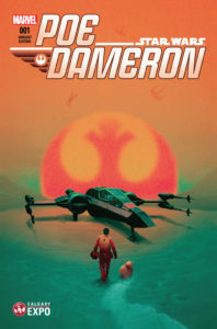 Poe Dameron #1 (Mike del Mundo Calgary Expo Variant Cover) (28.04.2016)
