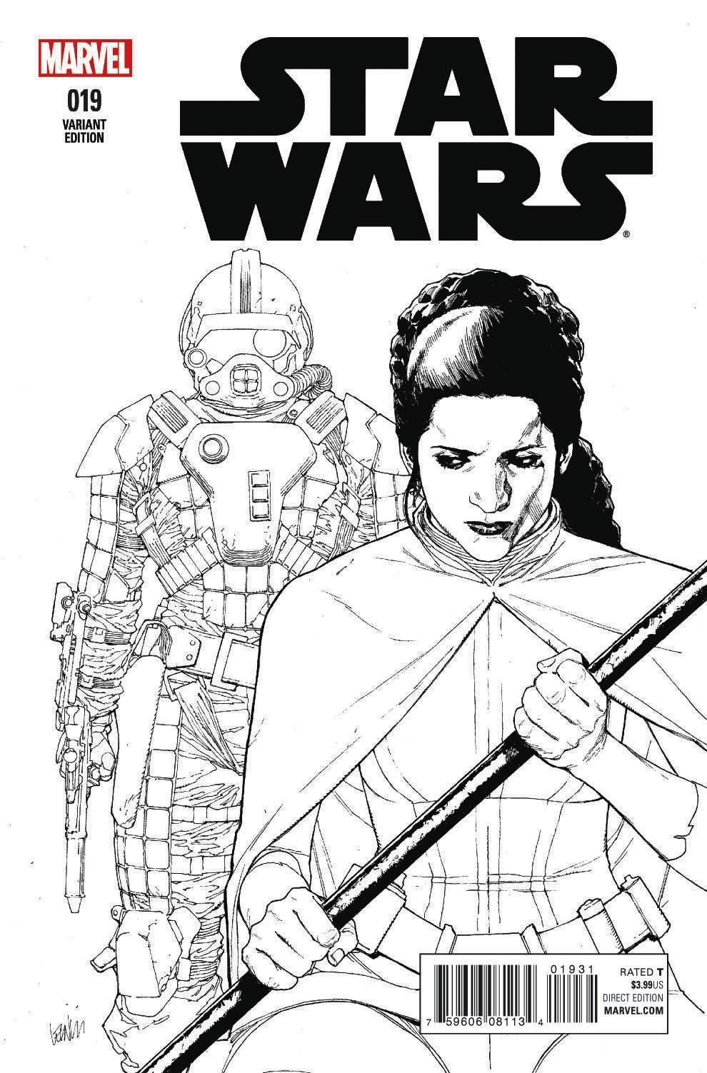 Star Wars #19 (Leinil Francis Yu Sketch Variant Cover) (25.05.2016)