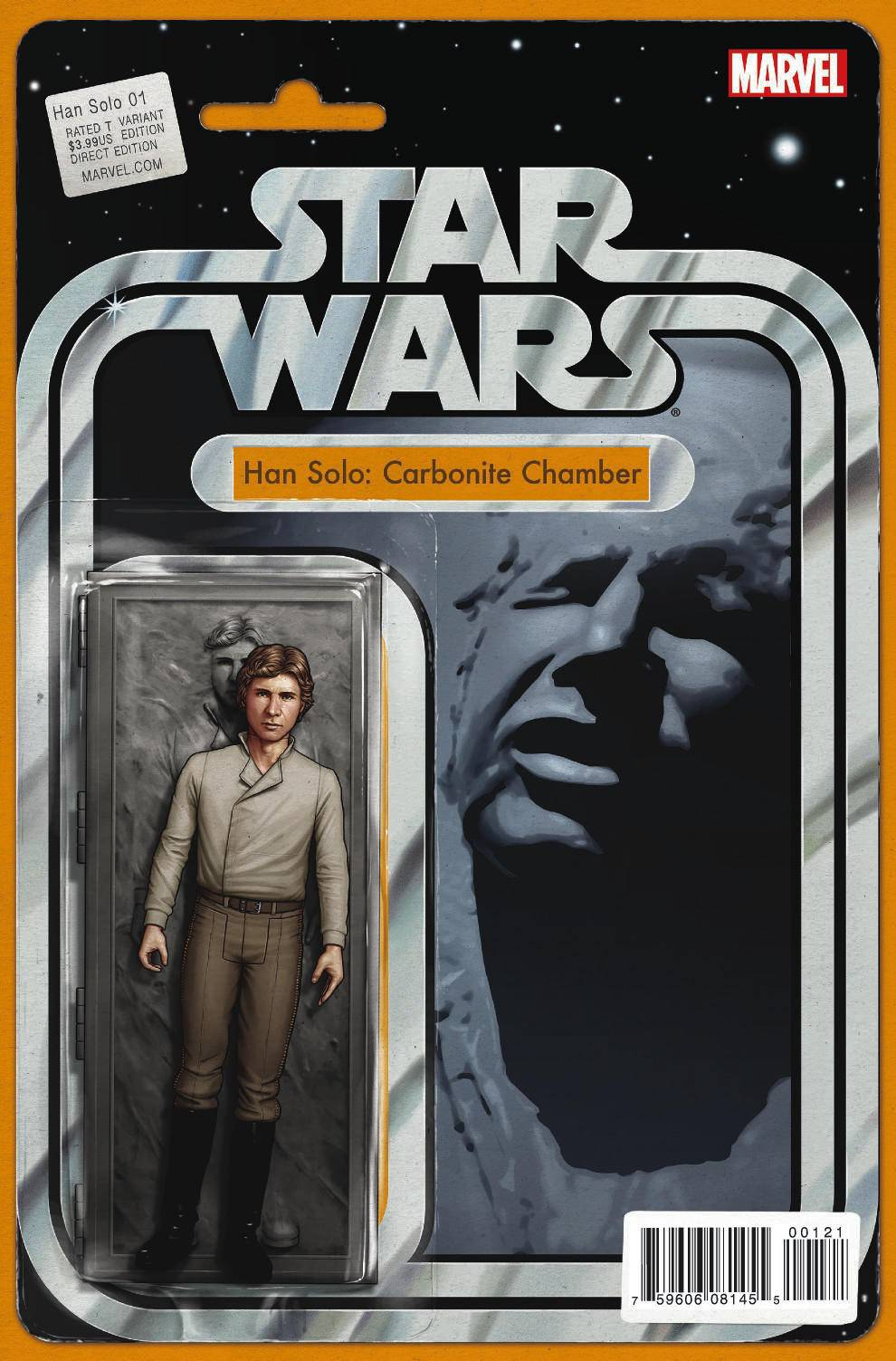 Han Solo #1 (Action Figure Variant Cover) (15.06.2016)