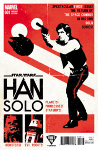 Han Solo #1 (David Aja Fried Pie Variant Cover) (15.06.2016)