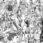 Han Solo #1 - Skizze 1