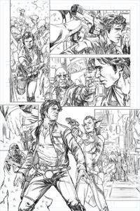 Han Solo #1 - Skizze 2