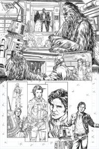 Han Solo #1 - Skizze 3