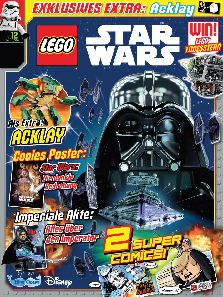 rezension lego star wars magazin 12 von blue ocean entertainment mit leseprobe jedi bibliothek. Black Bedroom Furniture Sets. Home Design Ideas