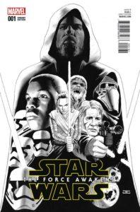 Star Wars: The Force Awakens #1 (John Cassaday Sketch Variant Cover) (22.06.2016)