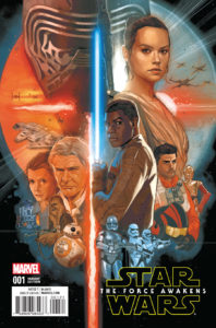Star Wars: The Force Awakens #1 (Phil Noto Variant Cover) (22.06.2016)
