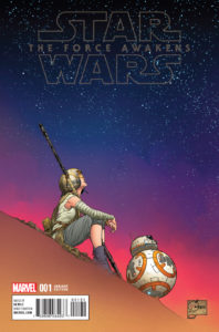 Star Wars: The Force Awakens #1 (Joe Quesada Variant Cover) (22.06.2016)