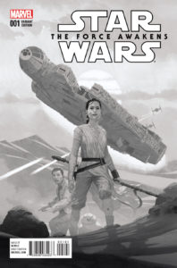 Star Wars: The Force Awakens #1 (Esad Ribic Sketch Variant Cover) (22.06.2016)