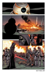 The Force Awakens (Comic) - Vorschauseite 1
