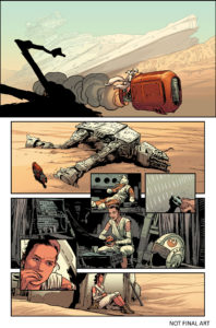 The Force Awakens (Comic) - Vorschauseite 2