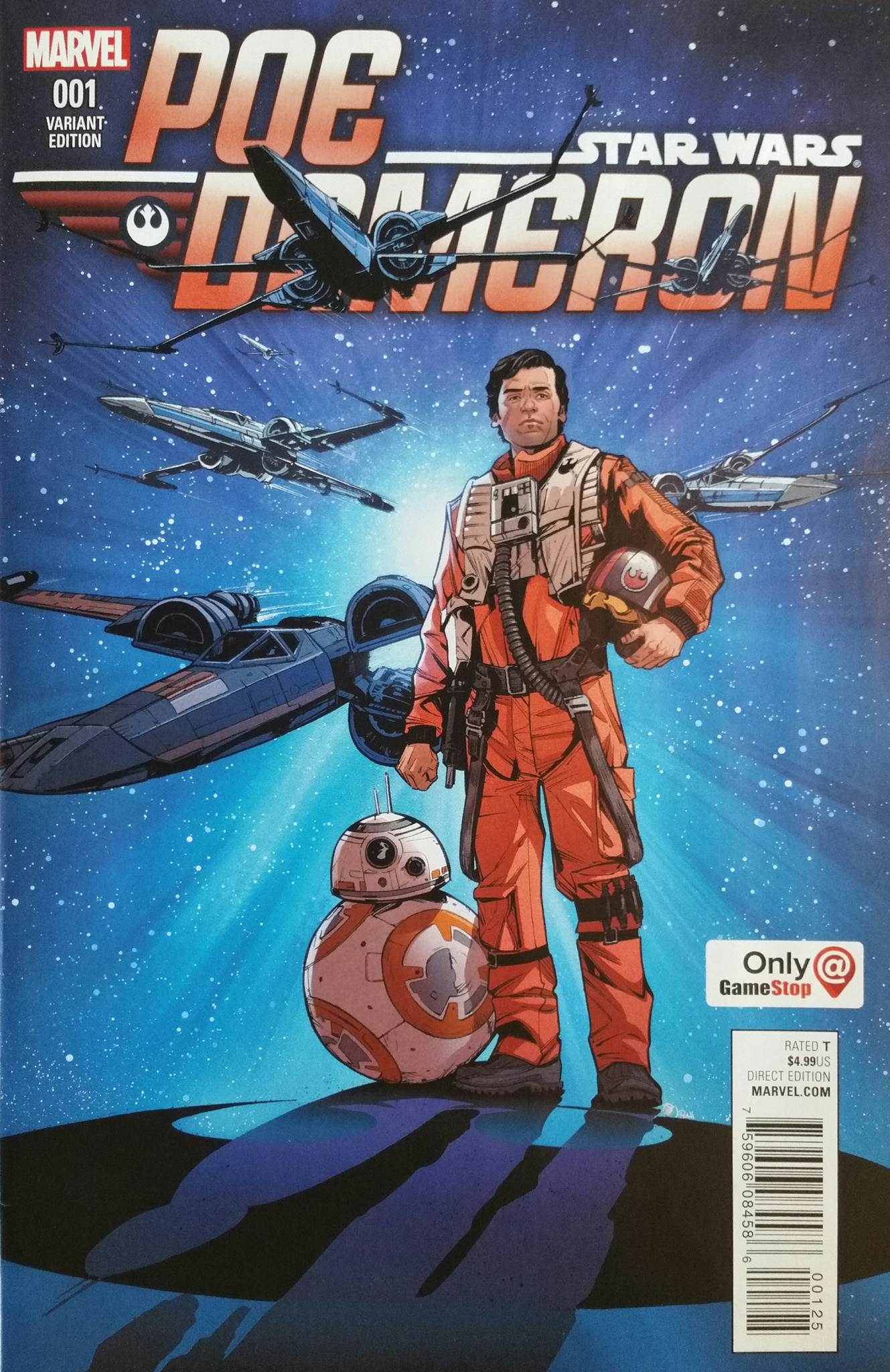 Poe Dameron #1 (Joëlle Jones GameStop Variant Cover) (04.05.2016)