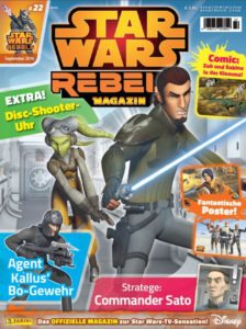 Star Wars Rebels Magazin #22 (31.08.2016)