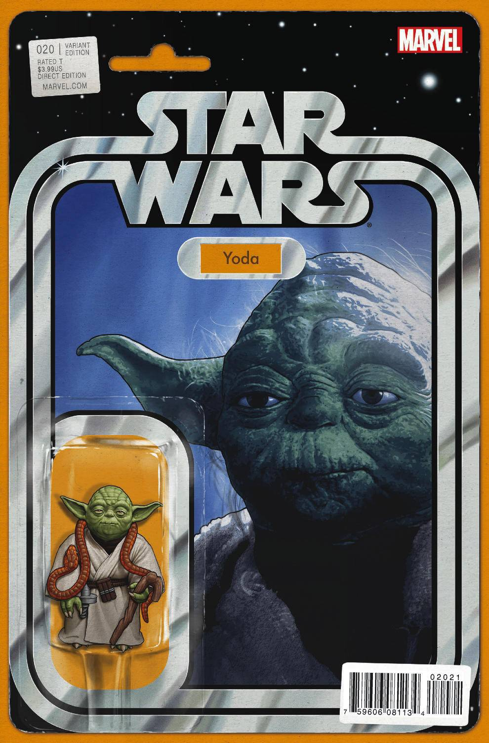 Star Wars #20 (Action Figure Variant Cover) (15.06.2016)