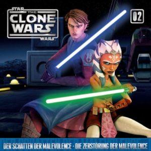 The Clone Wars - 02 - Der Schatten der Malevolence / Die Zerstörung der Malevolence