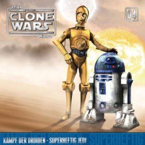 The Clone Wars - 04 - Kampf der Droiden / Superheftig Jedi