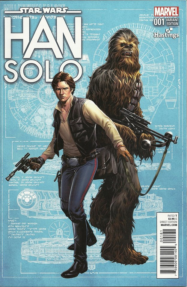 Han Solo #1 (Hastings Variant Cover) (15.06.2016)