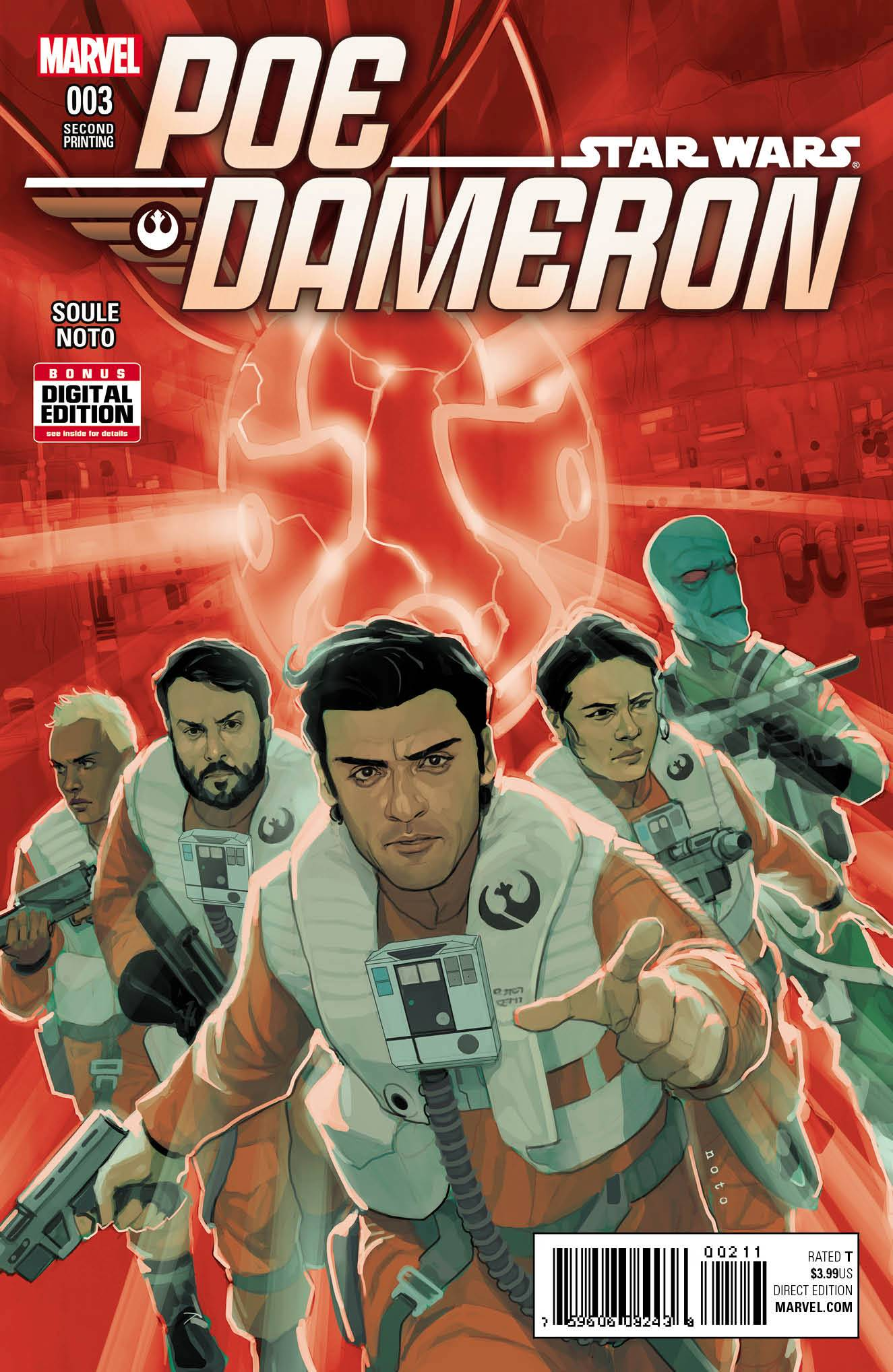 Poe Dameron #3 (2nd Printing) (20.07.2016)