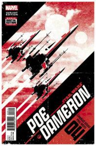 Poe Dameron #4 (David Aja Variant Cover) (06.07.2016)