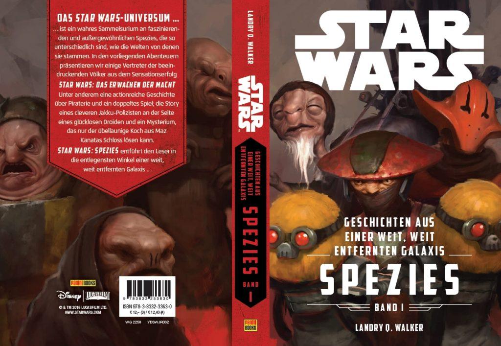 Star Wars: Spezies, Band I - Umschlag