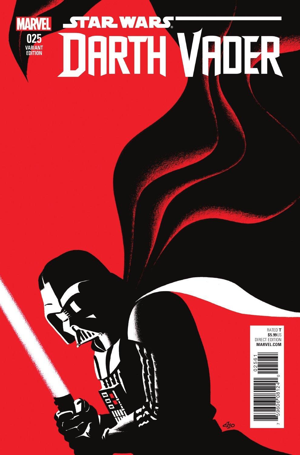 Darth Vader #25 (Michael Cho Variant Cover) (12.10.2016)