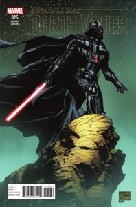 Darth Vader #25 (Joe Quesada Variant Cover) (12.10.2016)