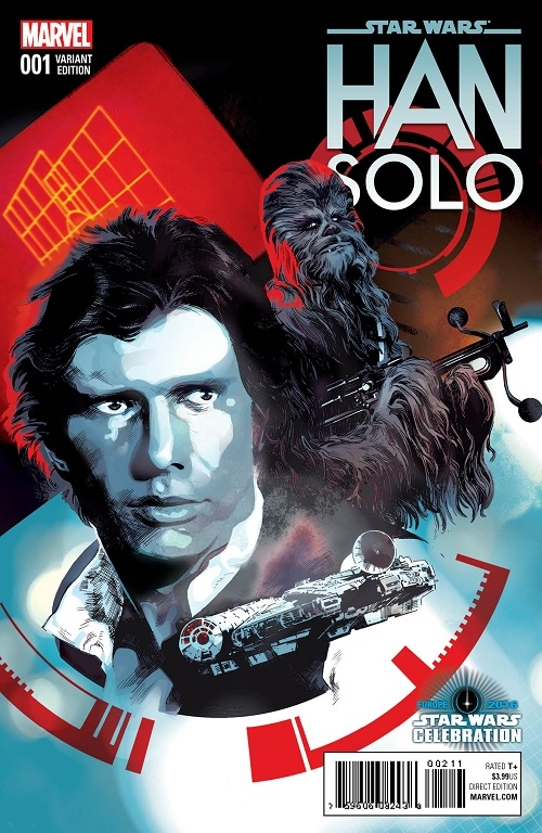 Han Solo #1 (Stuart Immonen Celebration Variant Cover) (15.07.2016)