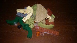 LEGO Star Wars Magazin #14 - Yodas Hütte - Bauteile