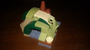 LEGO Star Wars Magazin #14 - Yodas Hütte - Minimodell