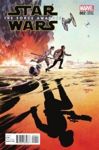 Star Wars: The Force Awakens #2 (Chris Samnee Variant Cover) (27.07.2016)