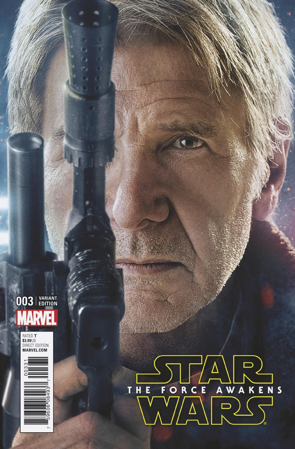 Star Wars: The Force Awakens #3 (Movie Variant Cover) (24.08.2016)