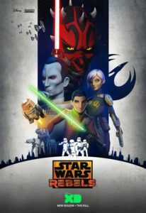 <em>Star Wars Rebels</em> Staffel 3 - Poster