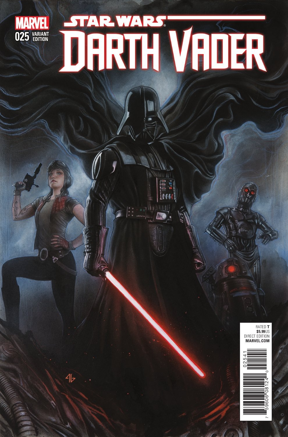 Darth Vader #25 (Adi Granov Variant Cover) (12.10.2016)