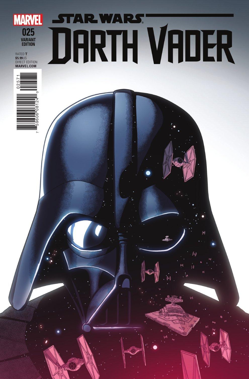 Darth Vader #25 (Jamie McKelvie Variant Cover) (12.10.2016)