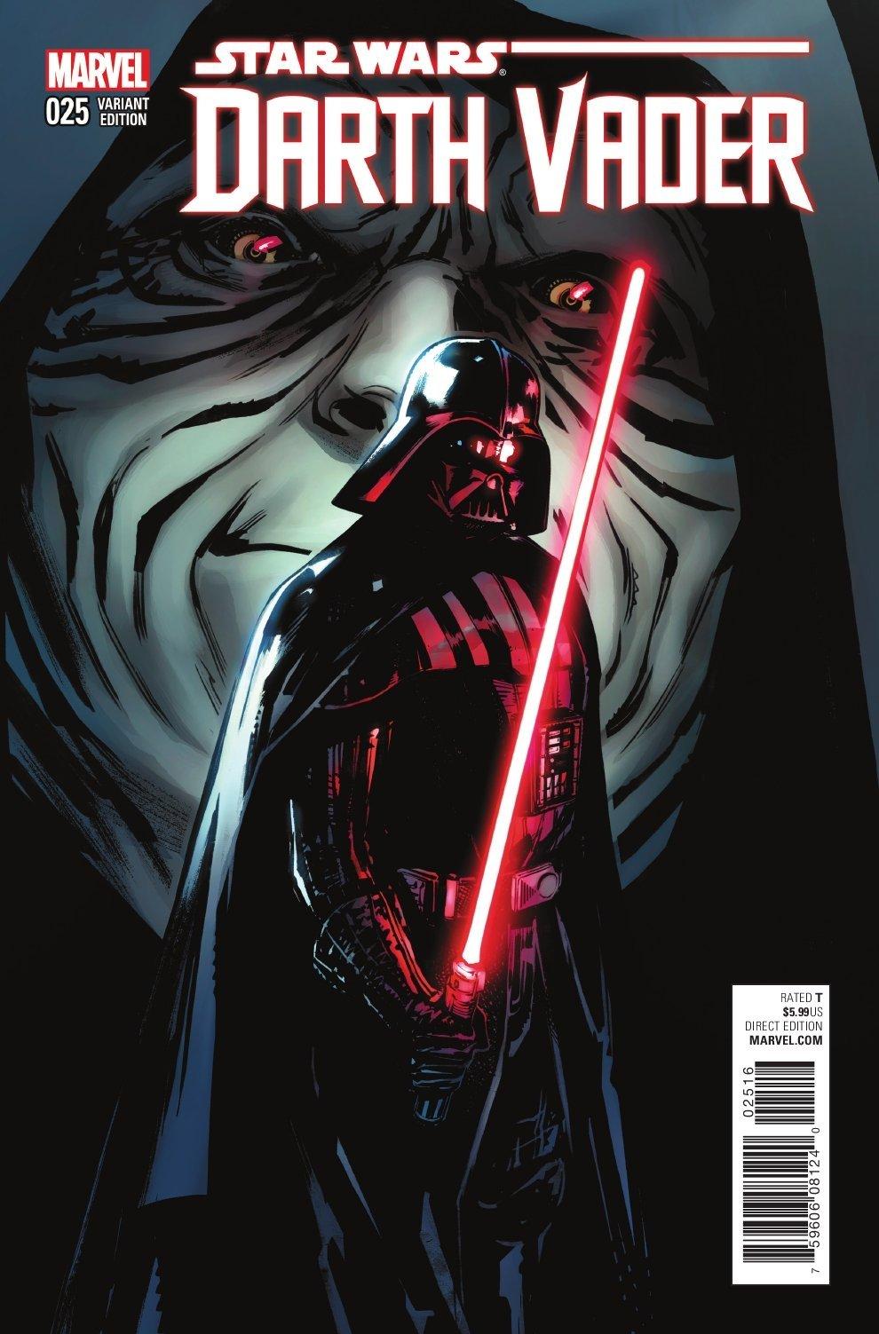 Darth Vader #25 (Sara Pichelli Variant Cover) (12.10.2016)