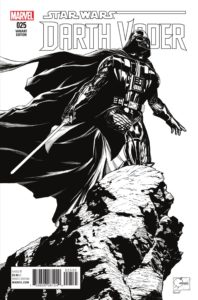 Darth Vader #25 (Joe Quesada Sketch Variant Cover) (12.10.2016)