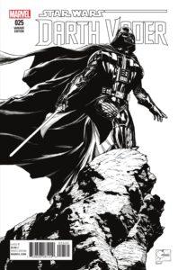 Darth Vader #25 (Joe Quesada Sketch Variant Cover) (12.10.2016)