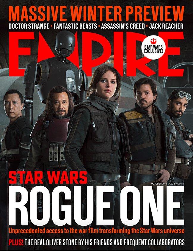 Rogue One - Empire Magazine-Cover