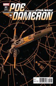 Poe Dameron #7 (Francesco Francavilla X-Wing Variant Cover) (26.10.2016)