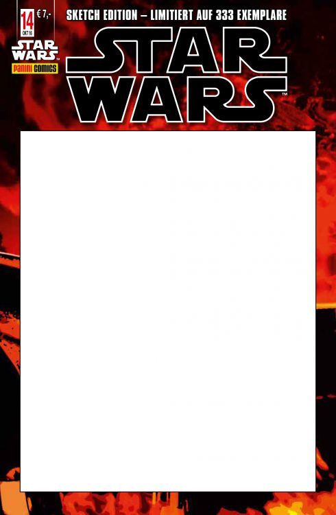 Star Wars #14 (Sketch Edition Variant) (13.10.2016)
