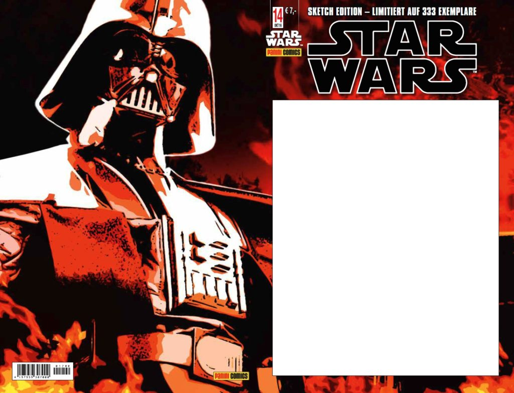 Star Wars #14 (Sketch Edition Variant) (13.10.2016)