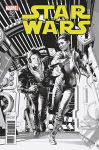 Star Wars #23 (Mike Deodato Sketch Variant Cover) (28.09.2016)