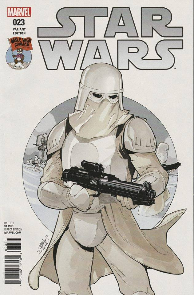 Star Wars #23 (Terry Dodson Mile High Comics Variant Cover) (28.09.2016)