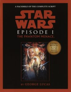 Star Wars: Episode I: The Phantom Menace - Script Facsimile (01.02.2000)